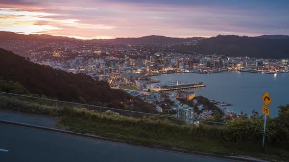 Thumbnail for Wellington city centre timelapse