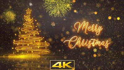 Merry Christmas Tree Decorations V2