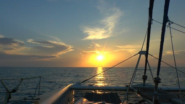 Thumbnail for Catamaran, Sailing To Sunrise, Cuba 2
