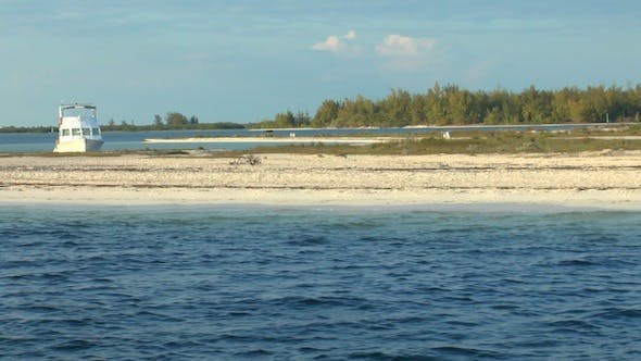 Cover Image for Sandy Beach Of Cayo Largo Del Sur, Cuba