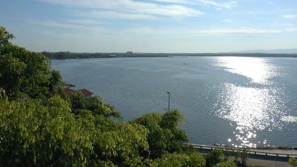 Cover Image for View On Cienfuegos Bay From Palacio De Valle, Cuba