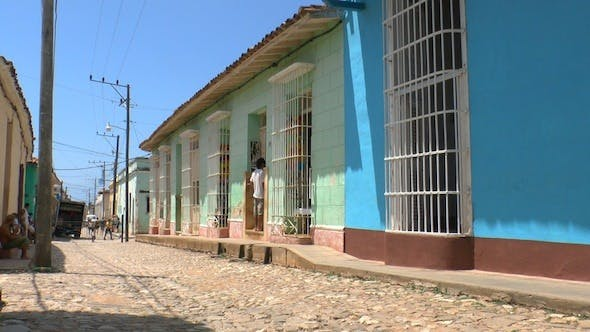 Thumbnail for Typical Colonial Street Of Trinidad, Cuba
