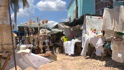 Souvenir Shops On Streets Of Trinidad, Cuba