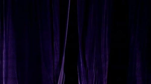Theater Curtain Open