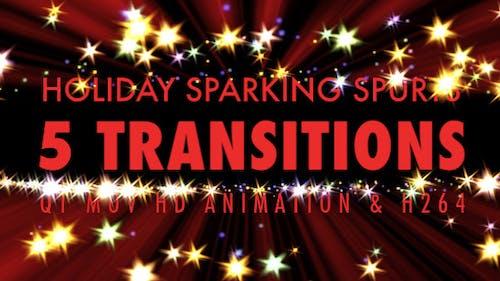 Holiday Sparkling Spurt - Pack Of 5
