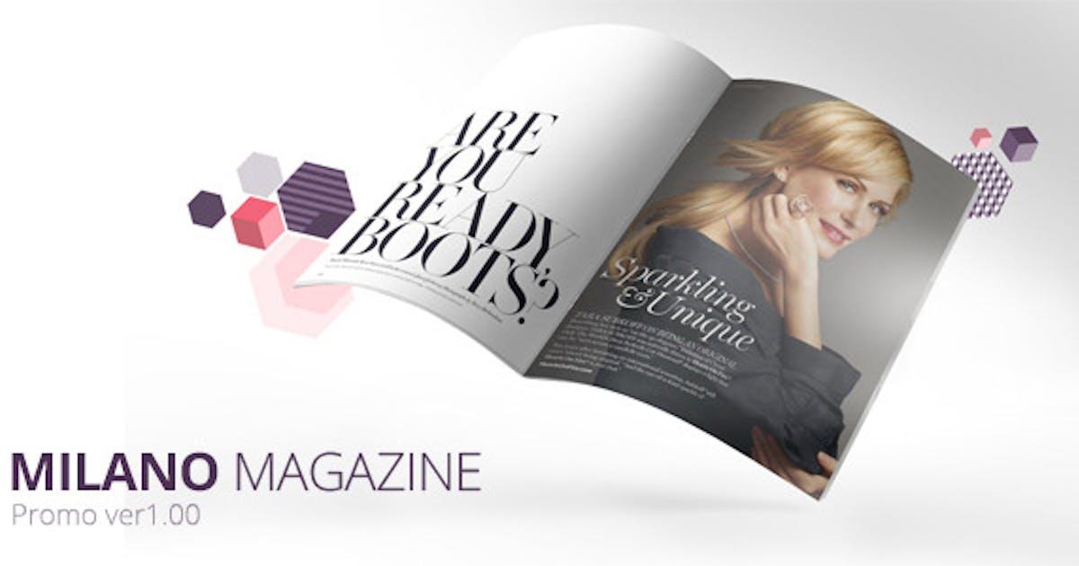 Download Milano Magazine Promo by Pixflow