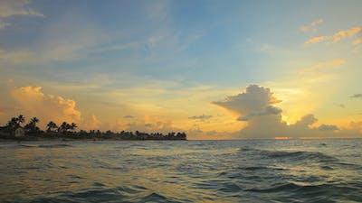 Sunset At A Cuban Beach