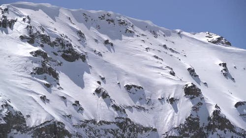 Potential Avalanche Hazard and Snow Eaves