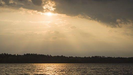 Thumbnail for Dawn At The Lake Time Lapse