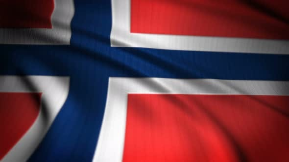 Thumbnail for Norway Flag Seamless Loop