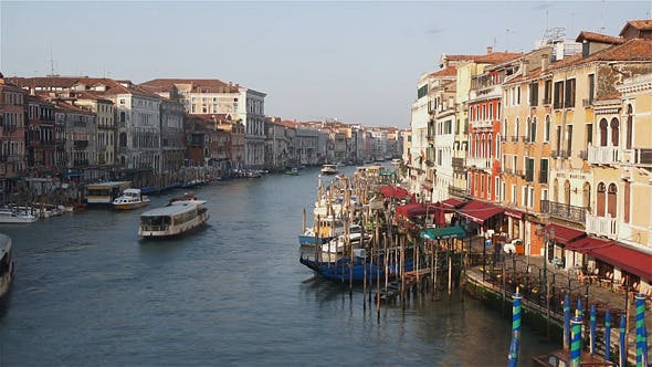 Thumbnail for Venice Town View From Rialto Bridge