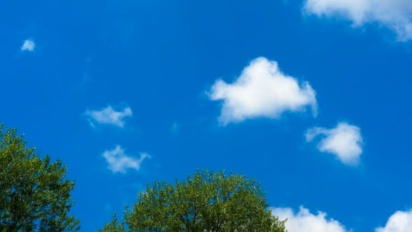 Thumbnail for Time Lapse: White Clouds And Blue Sky