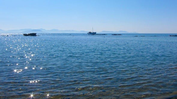 Thumbnail for Clear Water Of Corfu Beach, Greece Time Lapse