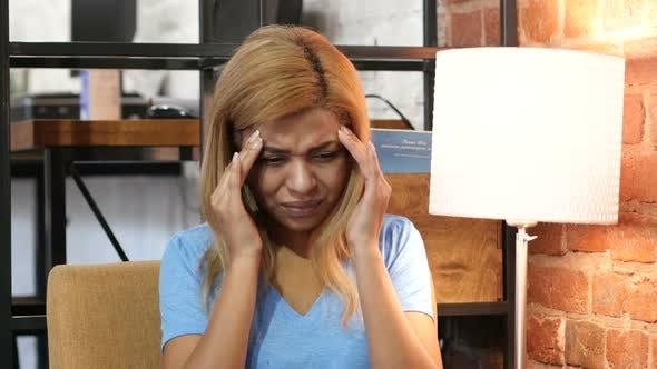 Headache, Black Woman