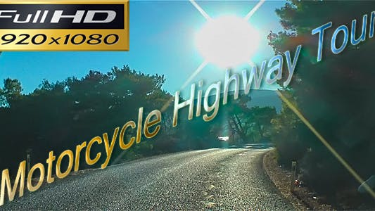 Thumbnail for Motorcycle Highway Tour Time Lapse