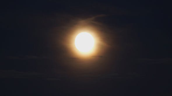 Thumbnail for Full Moon And Clouds