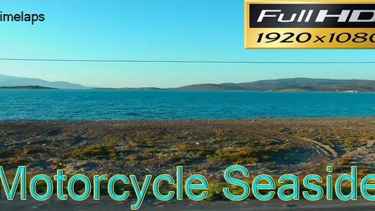 Thumbnail for Motorcycle Seaside Timelapse Full HD