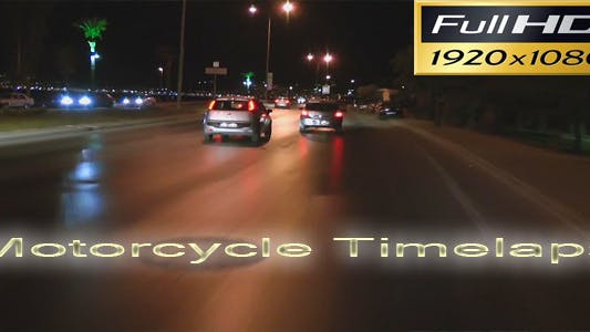 Thumbnail for Motorcycle Timelapse Full HD 2