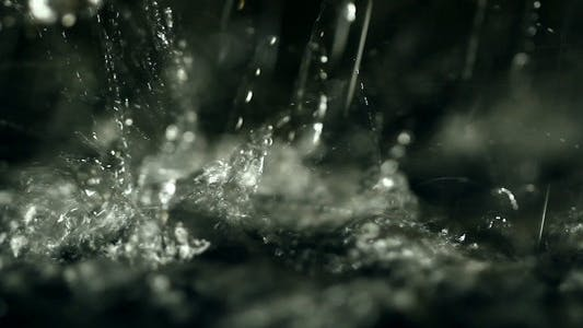 Splashing Drops Full-HD (1080p)