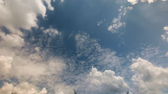 Thumbnail for Noon Sky Time Lapse in
