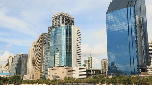 Thumbnail for Modern Asian Building Pan Bottom to Top 2