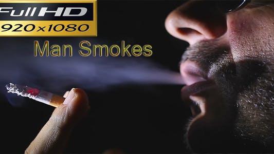 Thumbnail for Man Smokes Full HD