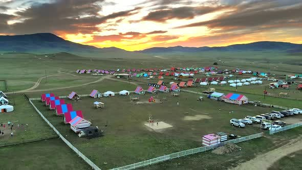 Thumbnail for Amazing Sunset in Mongolia