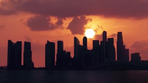 Thumbnail for Singapore Sunset