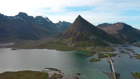 Cover Image for Fredvang Bridges Panorama Lofoten Islands