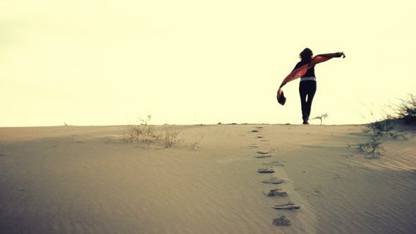 Thumbnail for Woman on Dunes