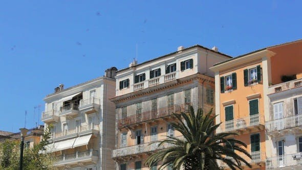 Thumbnail for Typical Buildings in Old City, Kerkyra
