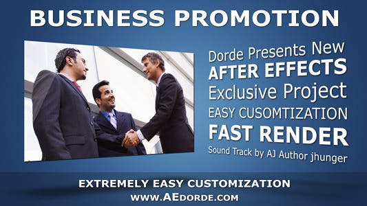 Cover Image for Business Promotion - Text Animations