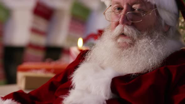 Thumbnail for Santa Claus says shhh