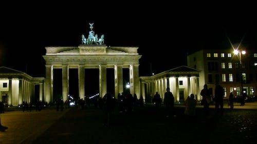 Brandenburg Gate at Night - Berlin, Germany