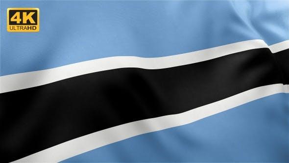 Thumbnail for Botswana Flag - 4K
