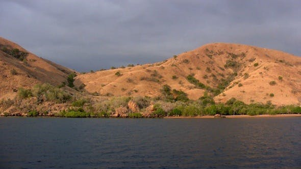 Thumbnail for Landscape Of Sea Island In Komodo Park, Indonesia