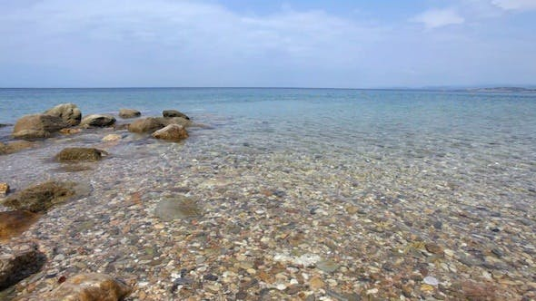Thumbnail for Clear Water Of Mediterranean Sea In Greece