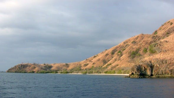 Cover Image for Landscape Of Sea Island In Komodo Park, Indonesia 2