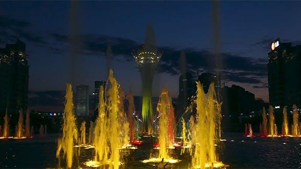 Light Color Fountain