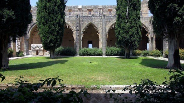 Cover Image for Inner Yard Of Bellapais Abbey, Kyrenia, Cyprus