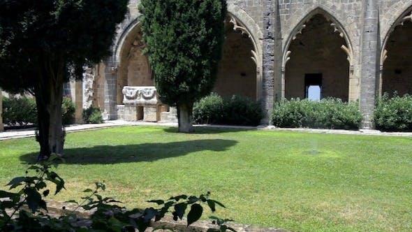 Thumbnail for Inner Yard Of Bellapais Abbey, Kyrenia, Cyprus 2