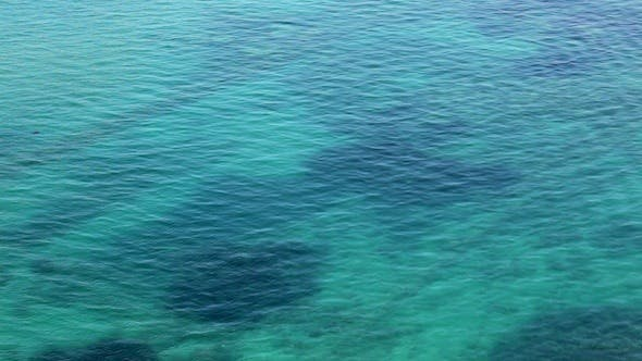 Thumbnail for Aerial View Of Water Surface Mediterranean Sea