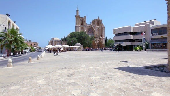 Cover Image for Ancient Gothic Cathedral Now Mosque In Famagusta