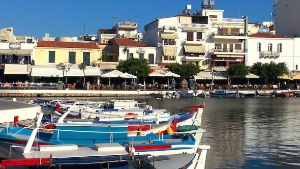 Thumbnail for Boats In Voulismeni Lake At Sunset, Agios Nikolaos 3