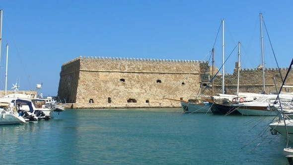 Thumbnail for Sea Port Medieval Castle, Heraklion, Crete