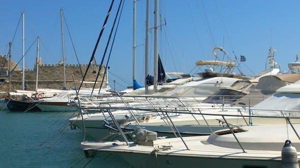 Yacht Marina Boats, Heraklion, Crete