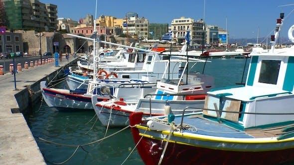 Thumbnail for Boats in Harbor Heraklion, Crete