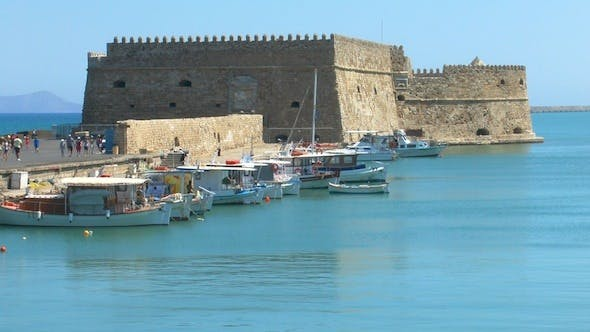 Thumbnail for Sea Port Medieval Castle, Heraklion, Crete 3