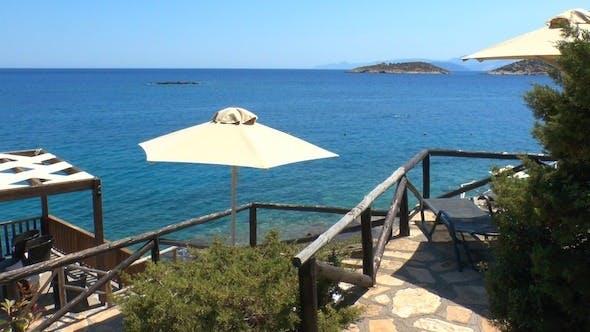 Cover Image for Terraced Beach And Mediterranean Sea, Crete