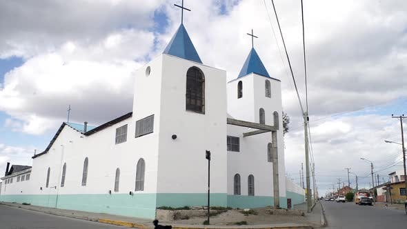 Old Church in Patagonia.